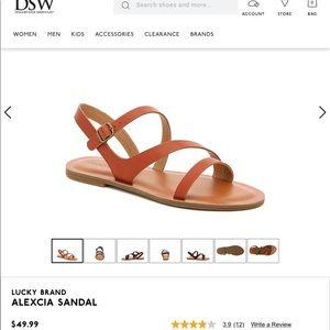 Lucky Brand – Alexcia Sandal Cognac size 8